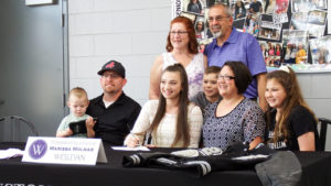 Lady Bears' Marissa Molnar signs with Wesleyan