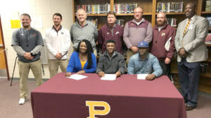 Panthers' Jay Watkins signs with Mars Hill University