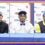 3 Eagles sign football scholarships