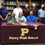 Perry High's Lauren Heath signs with Middle Georgia State University