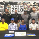 Houston County High's Javaris Michaels signs with Limestone College