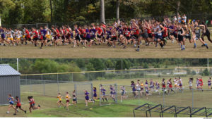 Weather affects WR Cross Country Invite