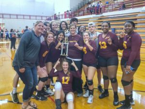 Perry wins Area 2-AAAA volleyball championship