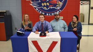 VHS's Cole Hooks signs with King University