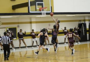 Perry's girls roll in region tourney; Panthers fall