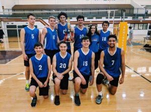 Veterans boys volleyball team wins Rockdale Invitational