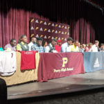 Twelve from Perry sign scholarships