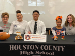 Houston County's Wesley Steiner signs with Auburn
