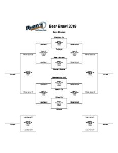 Bear Brawl set to tip off Friday